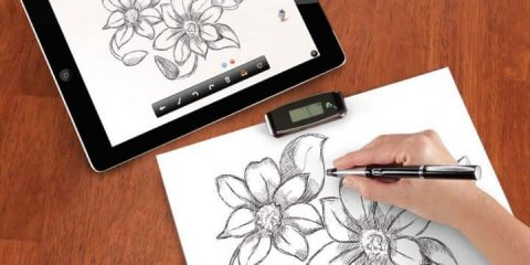 The-Instant-Transmitting-Paper-To-iPad-Pen