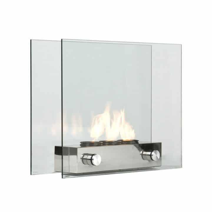 Loft portable indoor outdoor fireplace wicked gadgetry for Indoor outdoor fireplaces