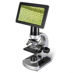 Video-Screen-Microscope