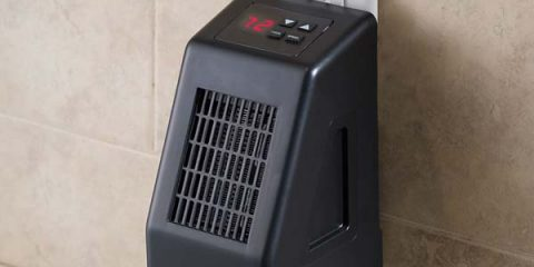 wall mounted electric space heater