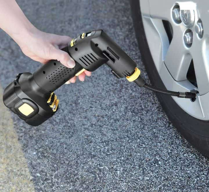 Automatic Cordless Portable Tire Inflator