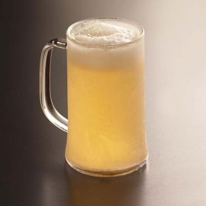 chilled beer mugs