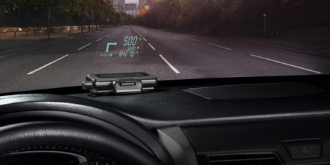 Garmin HUD (Heads-Up-Display) mobile GPS navigation device