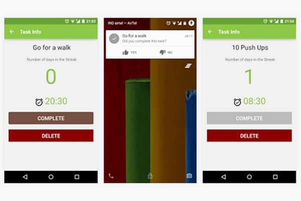 Streaks Daily Habit Tracker