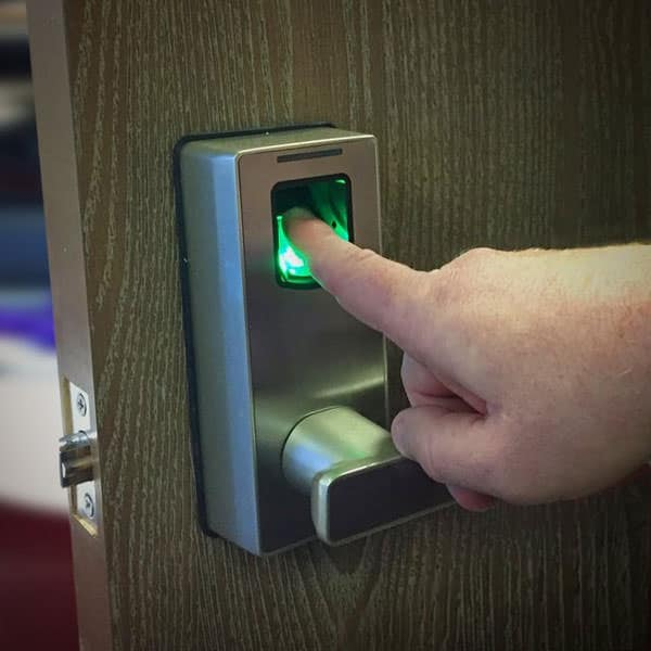 Biometric fingerprint door lock wicked gadgetry for 1 touch fingerprint door lock