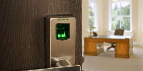 Biometric-Fingerprint-Door-Lock