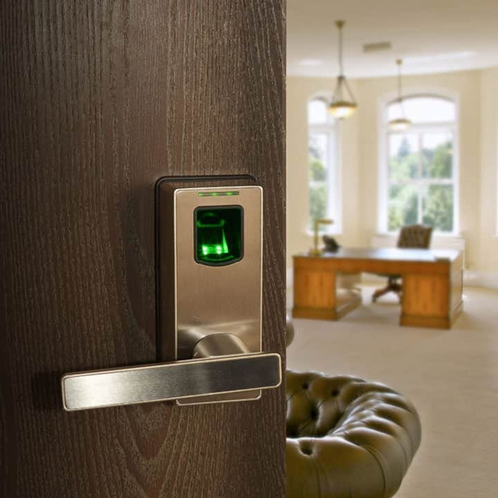 Biometric-Fingerprint-Door-Lock & Biometric Fingerprint Door Lock - Wicked Gadgetry