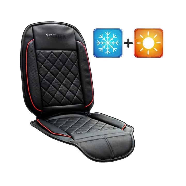 viotek heating and cooling car seat cushion wicked gadgetry. Black Bedroom Furniture Sets. Home Design Ideas