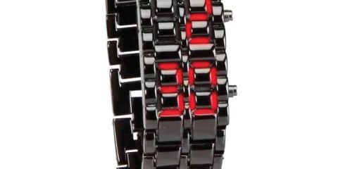 Faceless-LED-Bracelet-Wrist-Watch