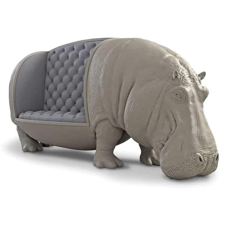 Hippopotamus-Sofa