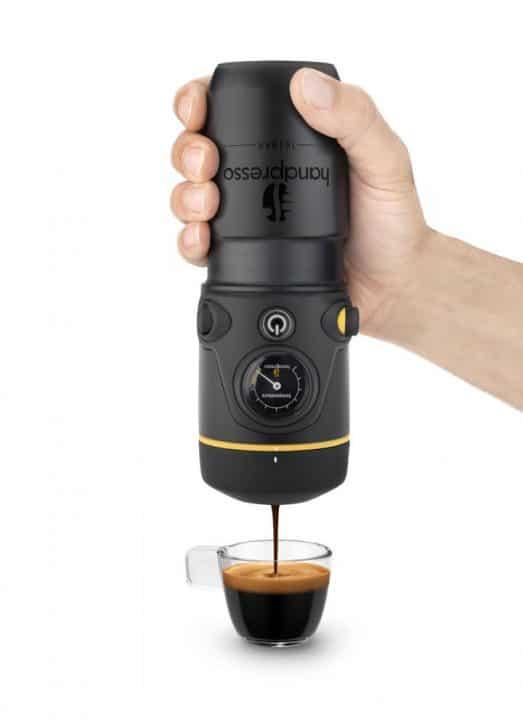 Portable Espresso Maker ~ Handpresso portable espresso maker wicked gadgetry