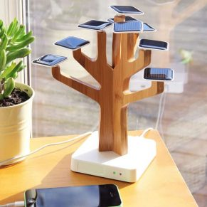 Solar Powered Charging Hub