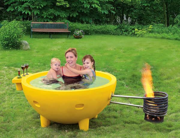 Alfi Vintage Style Soaking Hot Tub Wicked Gadgetry
