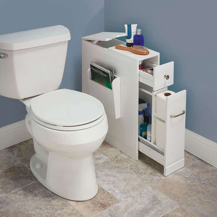 bathroom organizer for tight bathrooms wicked gadgetry