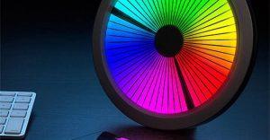 LED-Color-Spectrum-Clock