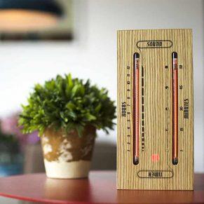 Luminous-Electronic-Bargraph-Clock