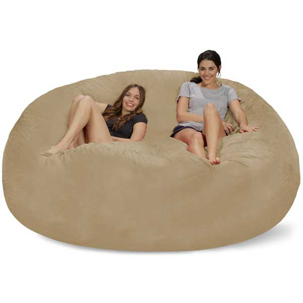 Outstanding Chill Bag 8 Foot Bean Bag Chair Wicked Gadgetry Gmtry Best Dining Table And Chair Ideas Images Gmtryco