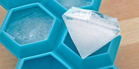 diamond-silicone-ice-cube-tray