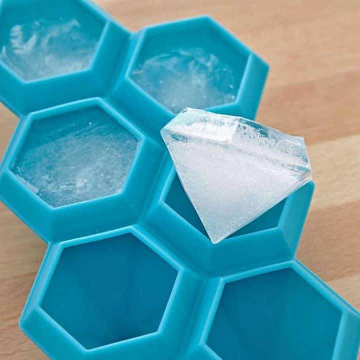 diamond-silicone-ice-cube-tray