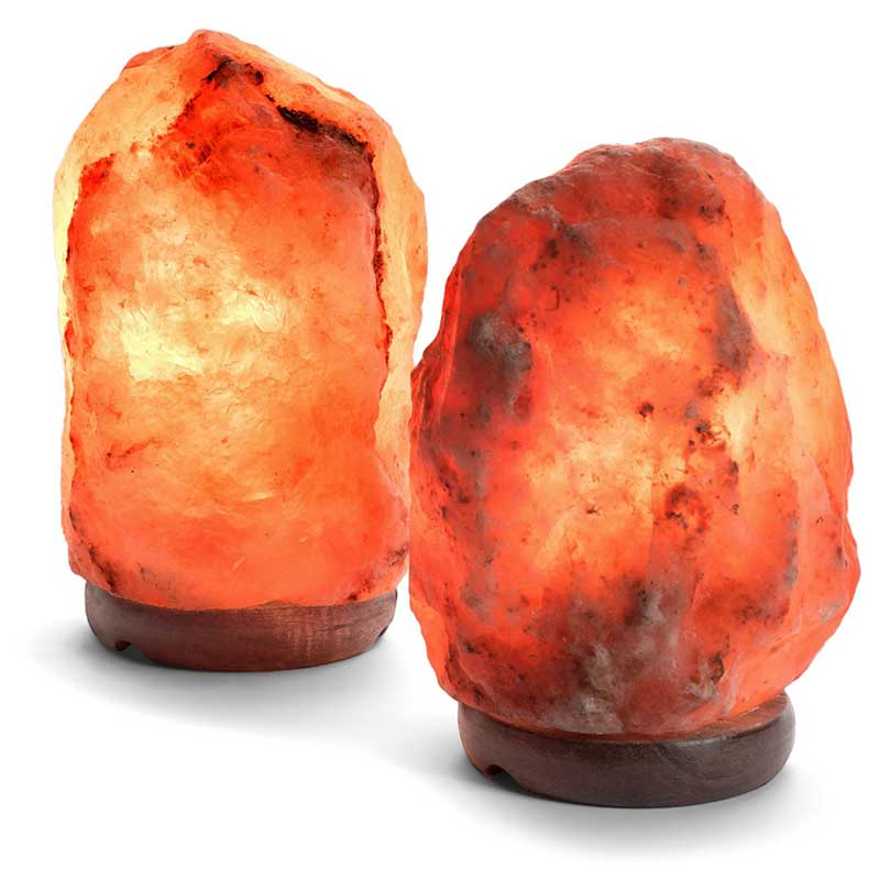 Himalayan Pink Salt Lamp - Wicked Gadgetry
