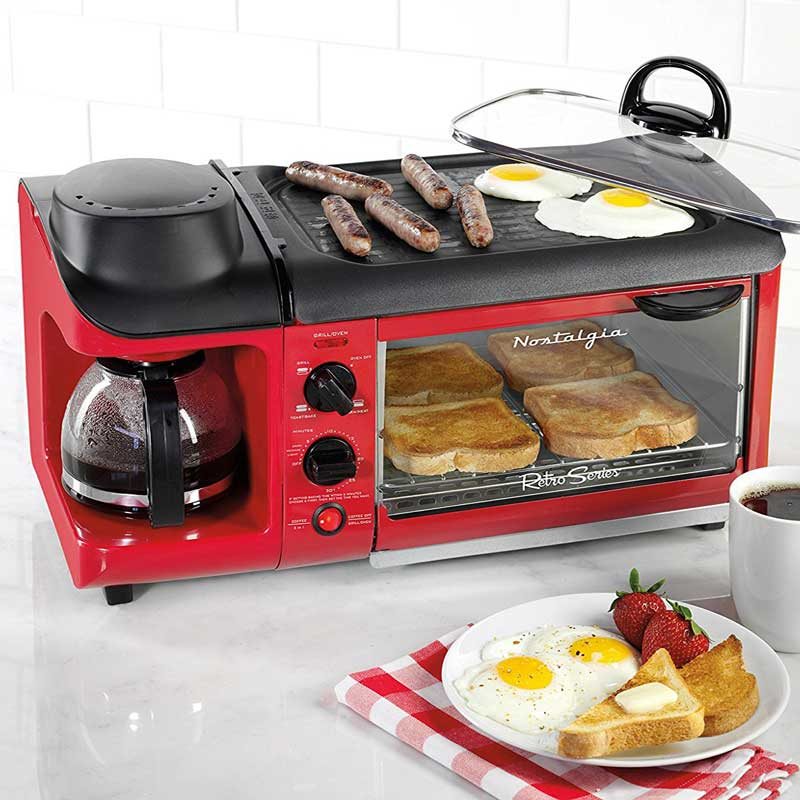 All-In-One Breakfast Cooking Station - Wicked Gadgetry