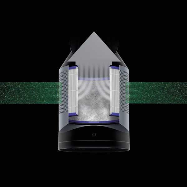 dyson pure hot cool link air purifier. Black Bedroom Furniture Sets. Home Design Ideas