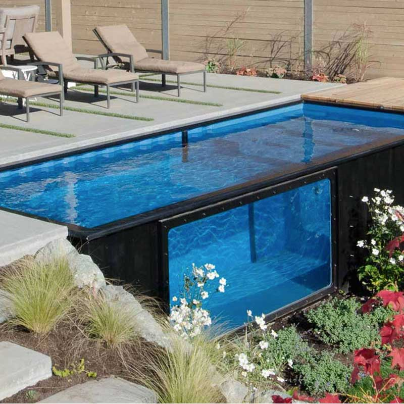 container pool preis shipping container pools 5 quick considerations tiger 20 ft container. Black Bedroom Furniture Sets. Home Design Ideas