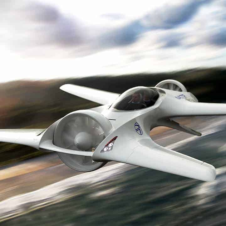 DR-7-Flying-Car in flight