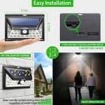Motion Sensing Solar lights