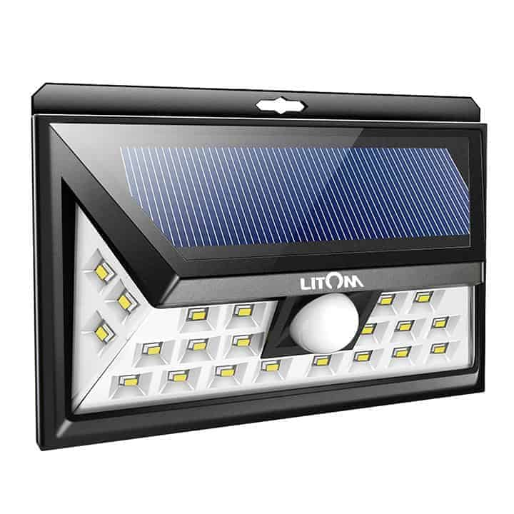 Led outdoor motion sensing solar lights wicked gadgetry motion sensing solar lights mozeypictures Image collections