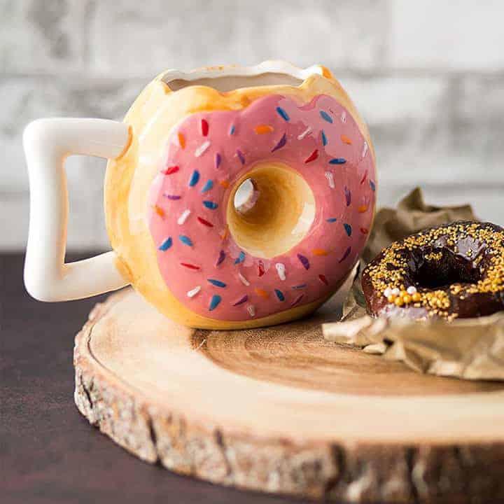 Donut Shaped Coffee Mugs