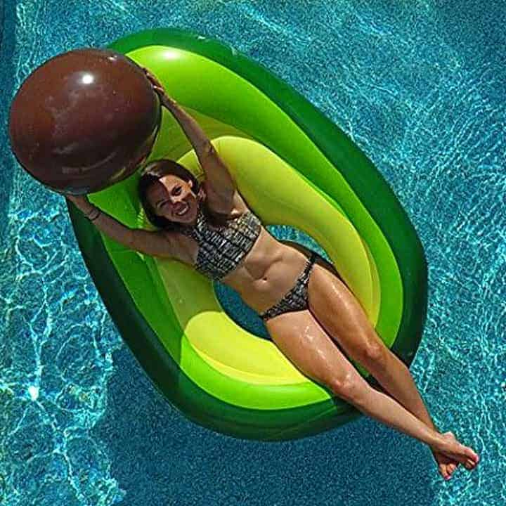 Avocado-Pool-Float