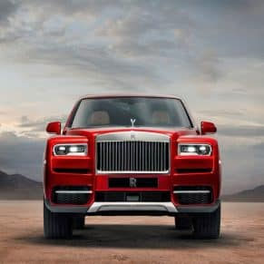 Rolls-Royce SUV Front View