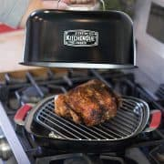 Stovetop-Smoker Grill with Chicken