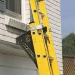 Ladder-Leveling-Tool perched against window