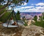 Flying Saucer Hanging Hammock Chair