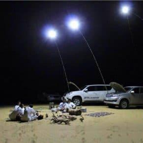 Giant Telescoping Outdoor Lamp