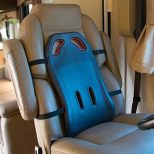 BackShield Back Support Seat Cushion