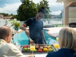 Hibachi BBQ Outdoor 3-in-1 Grill