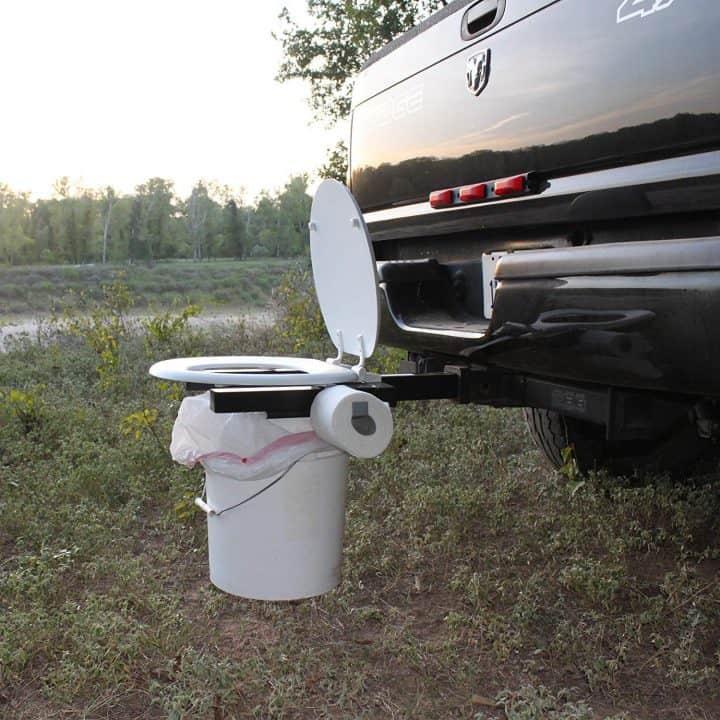 Bumper Dumper Portable Toilet