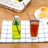 Stainless-Steel Metal Straws