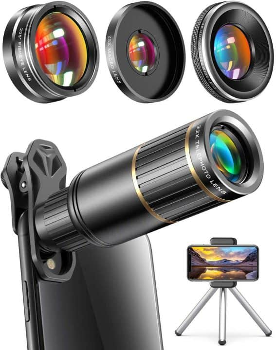 Wide-Angle Smartphone Lens