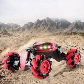 gesture controlled rc stunt car
