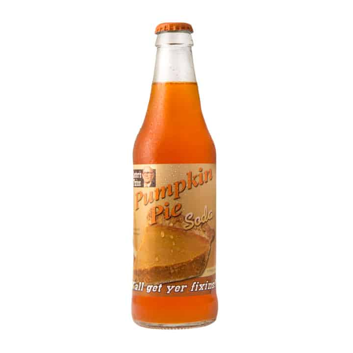 Pumpkin Pie Soda 12 oz bottle