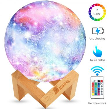 Galaxy 3D Moon Lamp