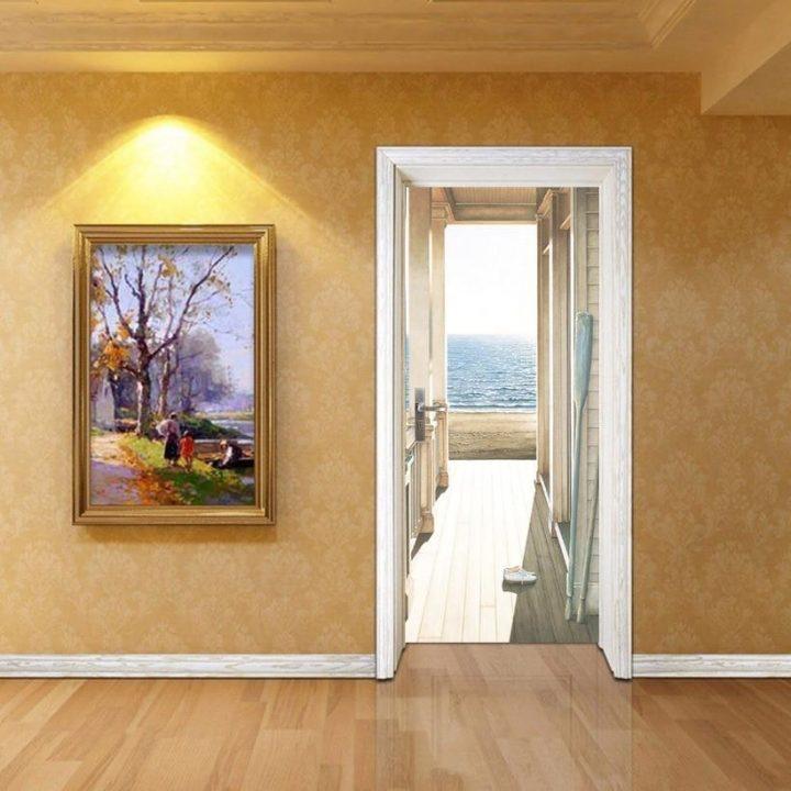 3D Door Murals