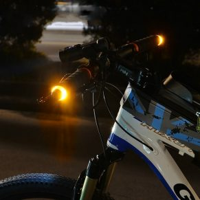 Bike Handlebar Turn Signal Lights