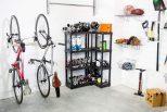 World's Smallest Bike Wall Rack
