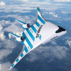 Airbus New Blended Wing Concept