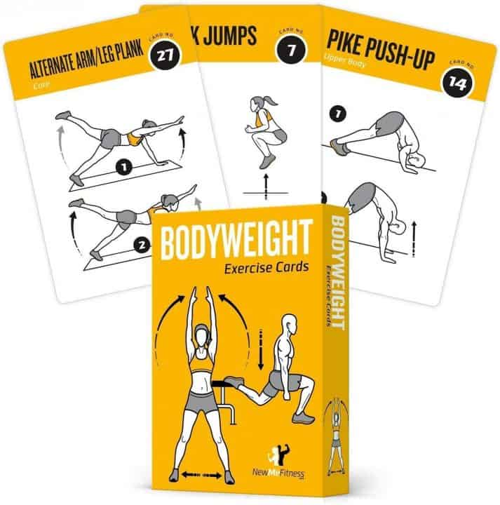 Bodyweight Workout Cards